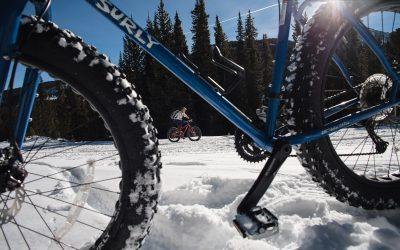 Winter Fat Biking In Chaffee County