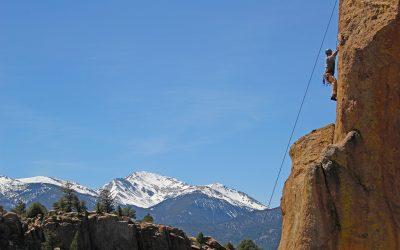 Rock Climbing in Chaffee County