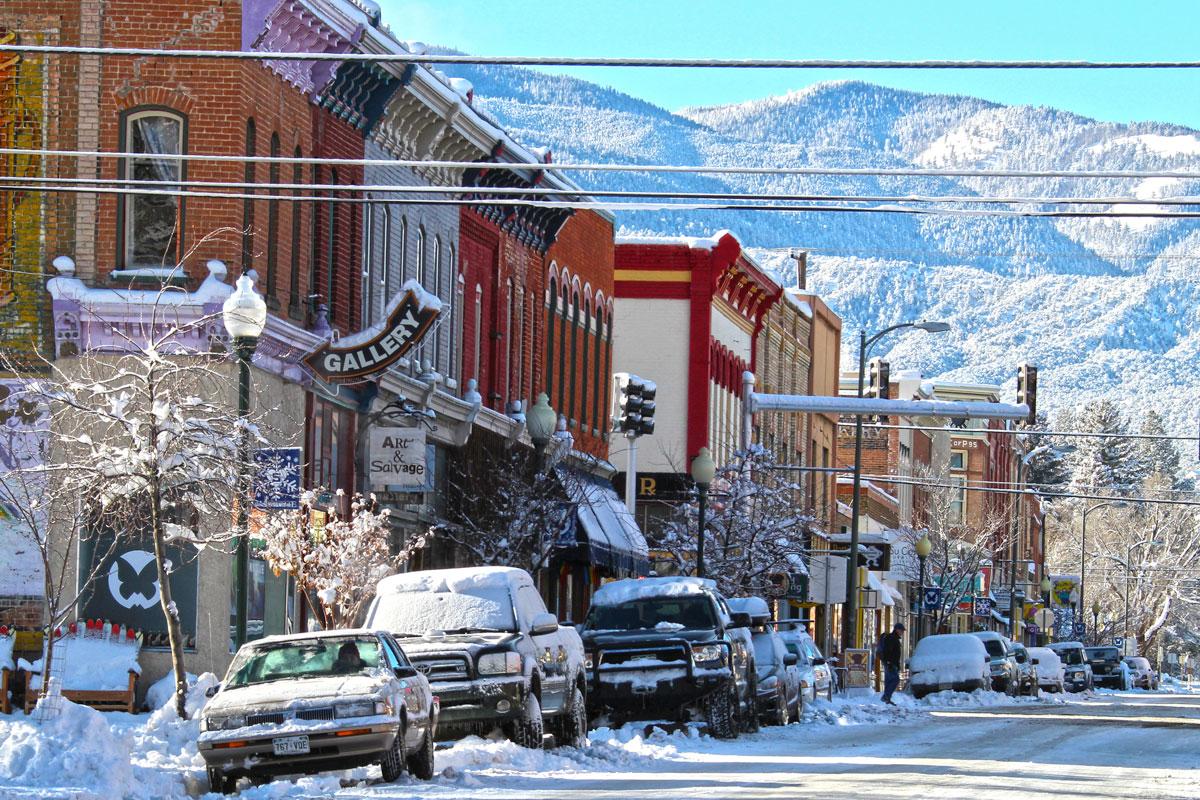 Winter buena vista salida colorado vacations for Winter cabin rentals colorado