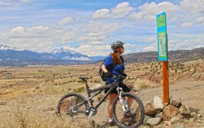 Mountain Biking the Arkansas Hills Trails In Salida, Colorado