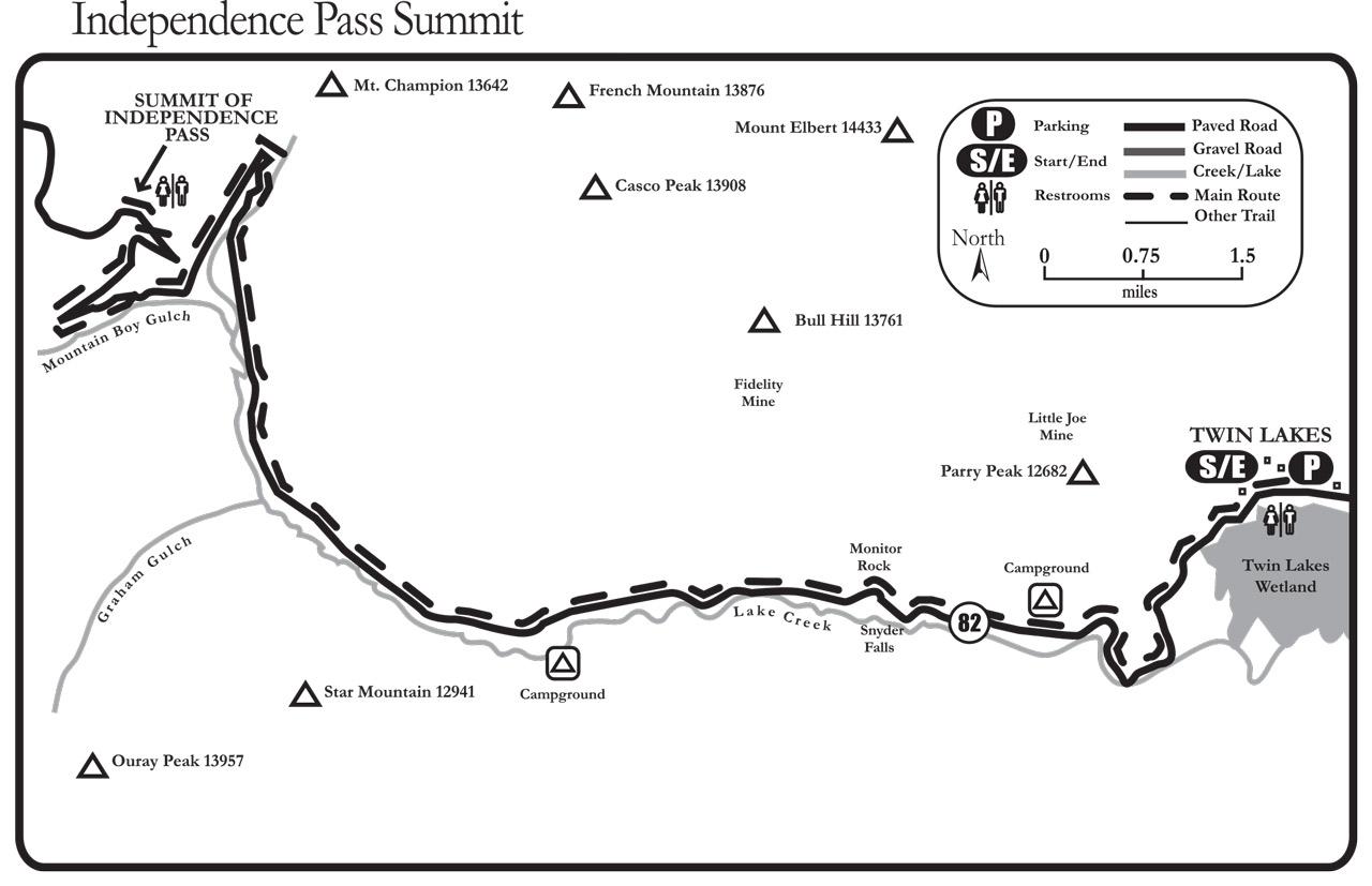 independence pass summit