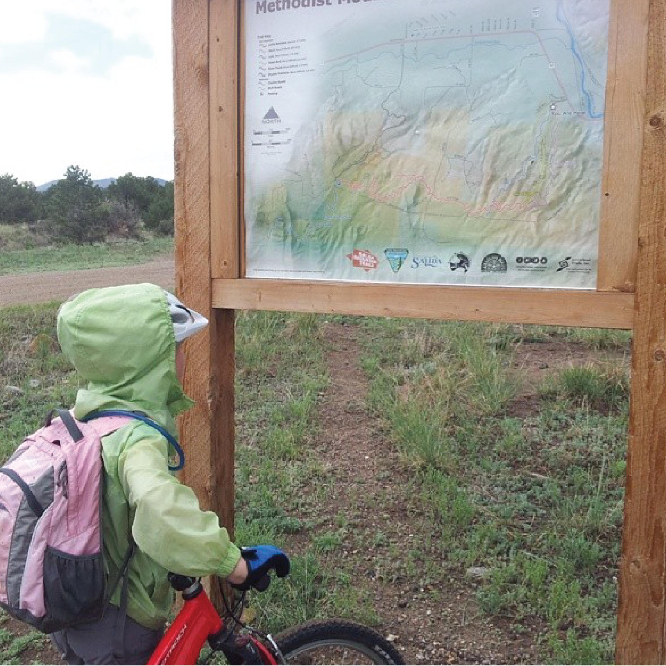 biking little rainbow trail