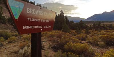 """Browns-Canyon-Sign"""
