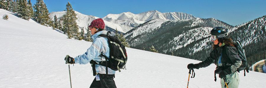 Back Country Skiing Monarch Pass Colorado