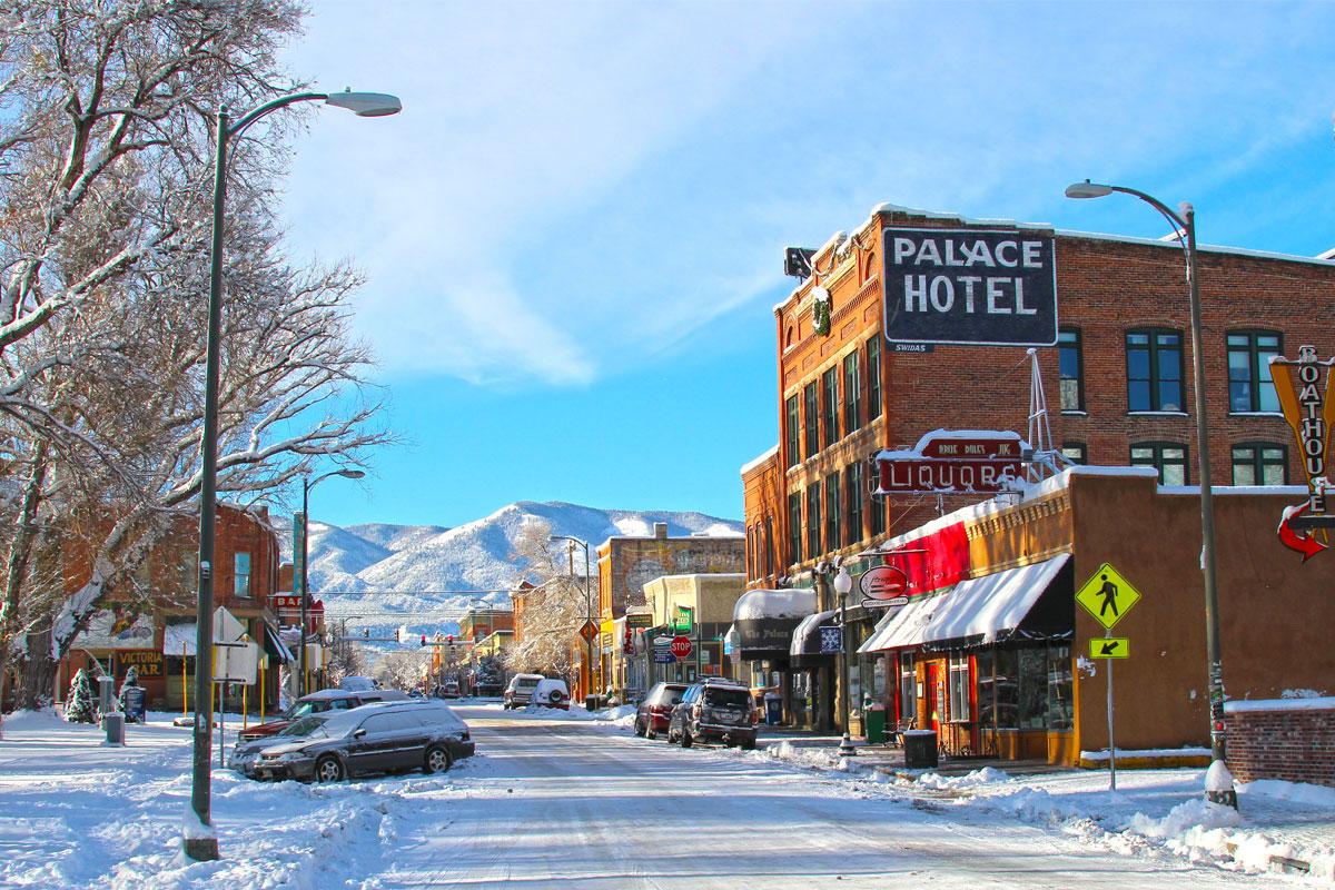 Salida Colorado Winter