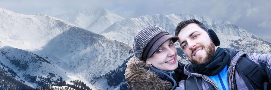 Winter Selfies Colorado