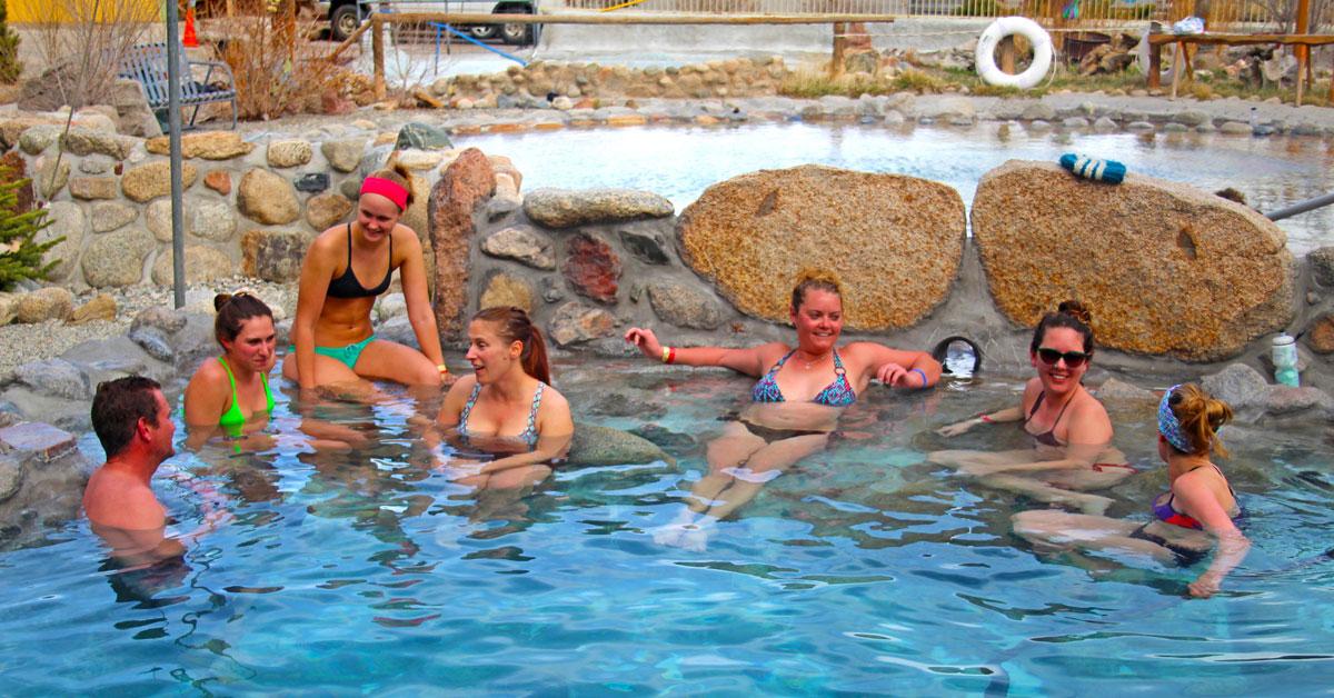 Hot Springs & Cool Skiing