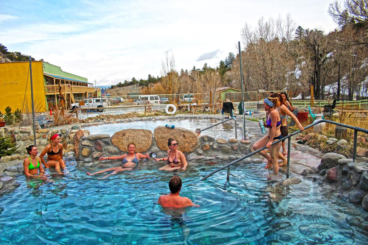 Cottonwood Hot Springs Buena Vista, Colorado
