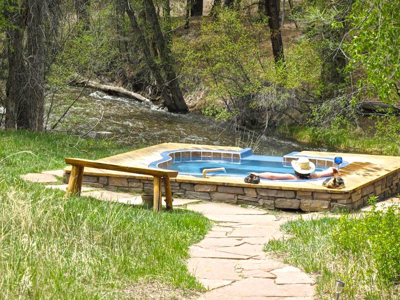 Creek Side Hot Springs Vacation Rental