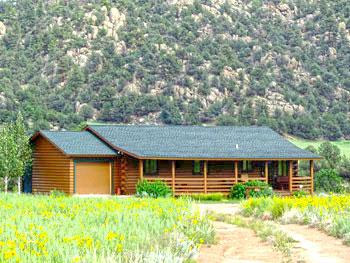 K Bar S Log Cabin