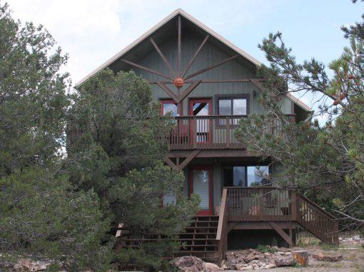 Mountain Sunset Cabin