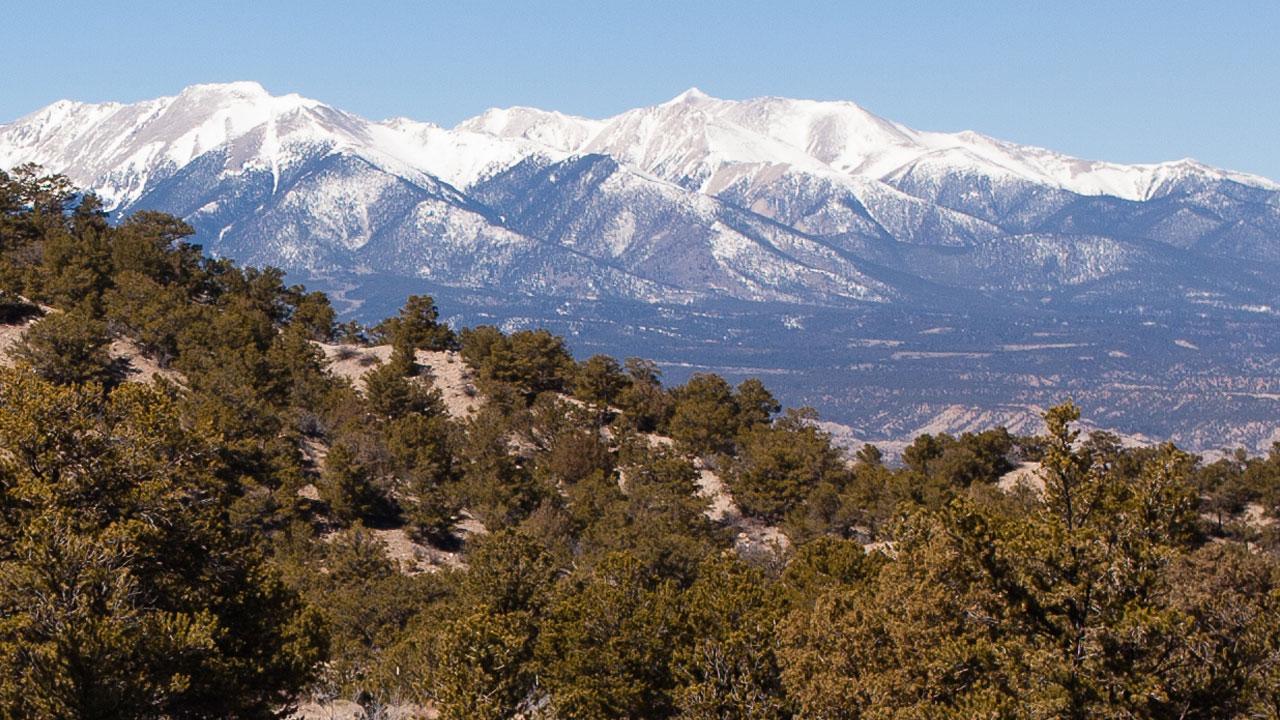 bear creek west to methodist mountain