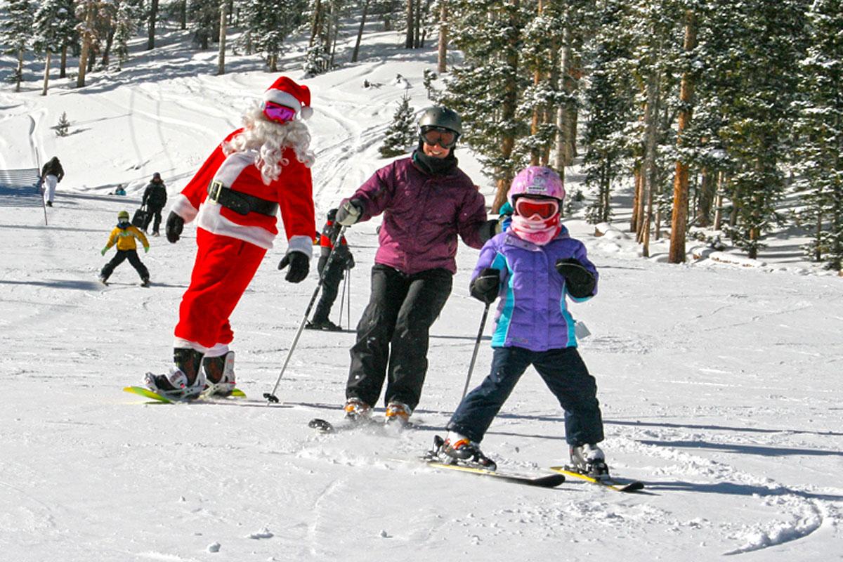Santa Skis Monarch Mountain December 24, 2016