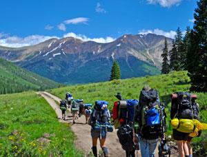 Sawatch Mountain Range Colorado