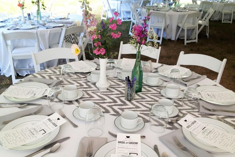 Settings Event Rentals